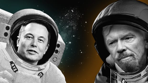Elon Musk Dukes It Out With Richard Branson Over Space Tourism