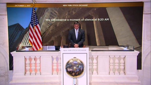 Video: NYSE Moment of Silence for Victims of Las Vegas Shooting Rampage