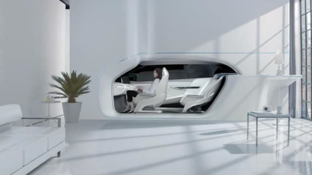 Hyundai Sees a Future Where Your Car Is Part of the Furniture