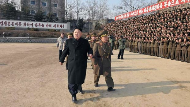 Global Stocks Defensive on Tough Rhetoric About North Korea