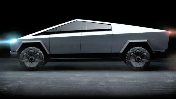 Elon Musk Unveils Tesla Electric Pickup Truck