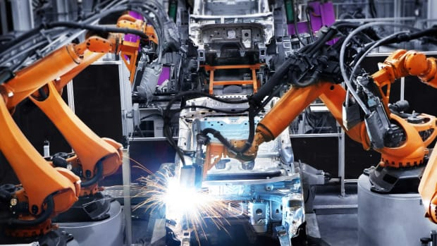 Auto Factory Assembly Line