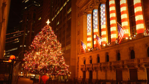 New York Stock Exchange Christmas