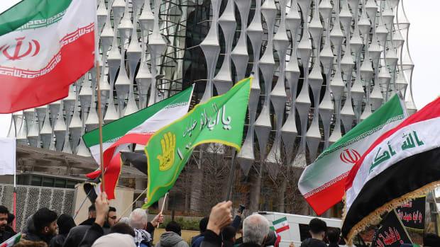 Iran Protests Lead