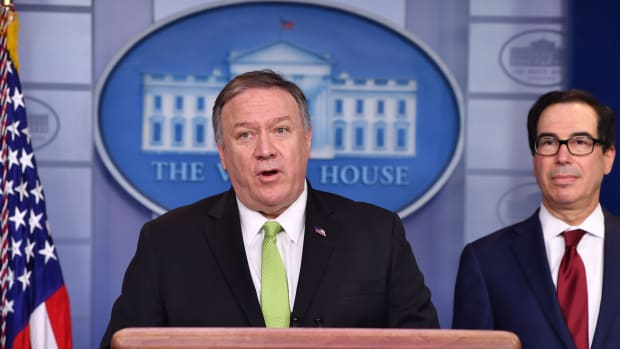 US Secretary of State Mike Pompeo Lead
