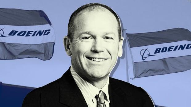 Boeing CEO Dave Calhoun Lead