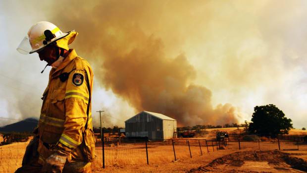 Australian Bushfires Lead