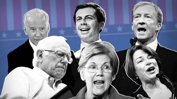 Democratic Debates Lead
