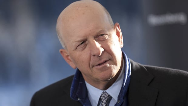David Solomon, chief executive officer of Goldman Sachs. Photo: Bloomberg
