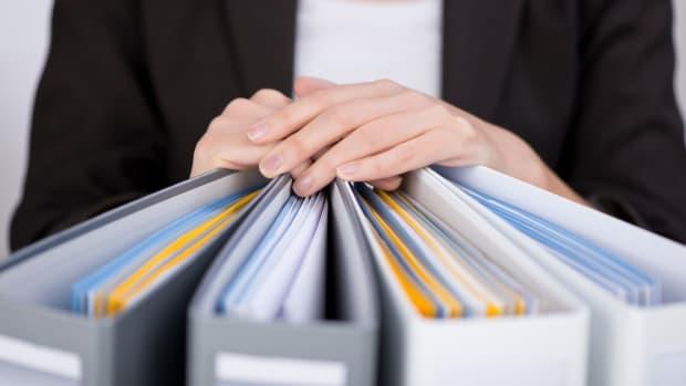 organize files papers binders sh
