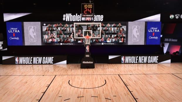 NBA Microsoft Courtside Lead