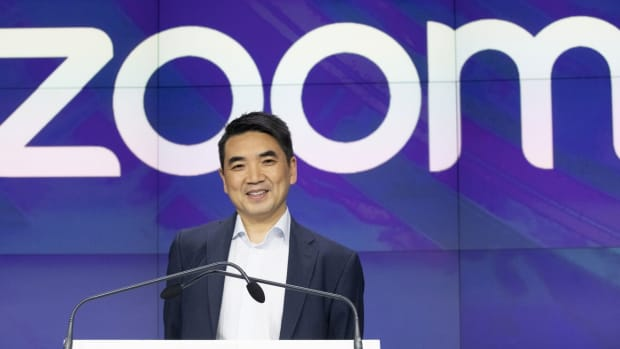 Zoom CEO Eric Yuan in April 2019. Photo: AP