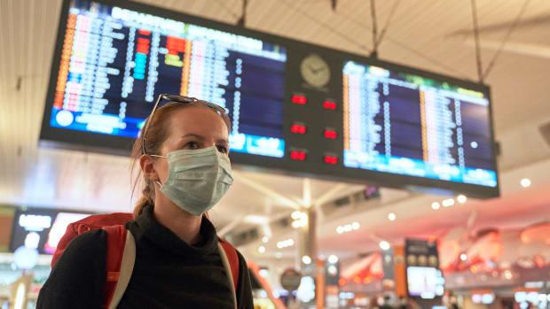 faa masks travel flight airport sh