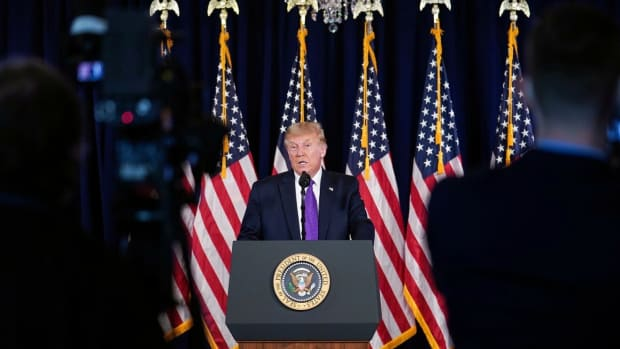 At his news conference, Trump said that China has