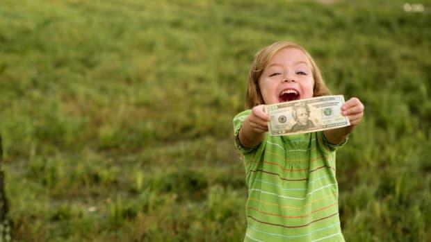 school kids money cash sh