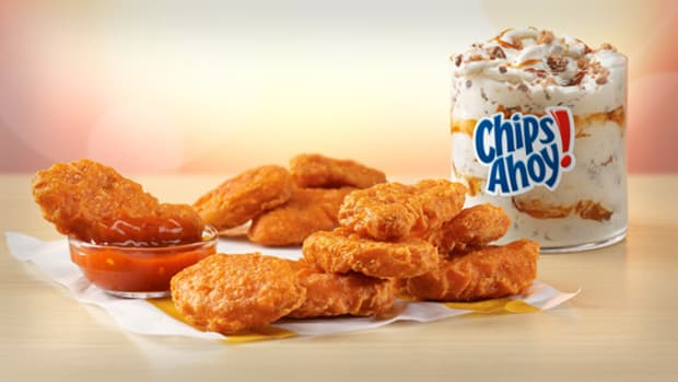 McDonald's Spicy Chicken Nuggets Lead