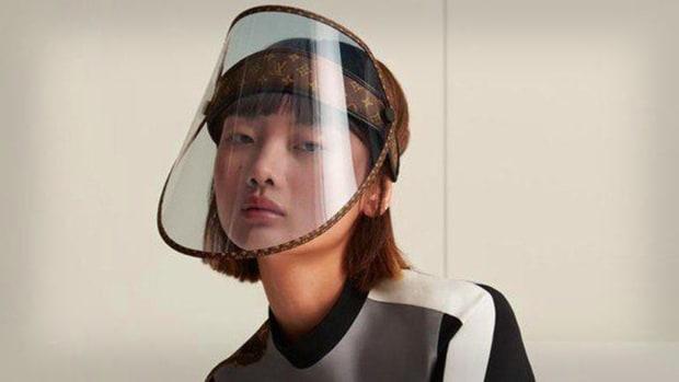 Louis Vuitton Face Shield Lead