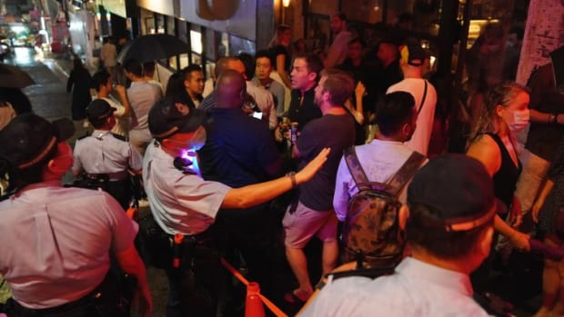 Hong Kong Bars Open To Brisk Business On Friday After Two-month Closure Amid Third Wave Of Covid-19 Infections