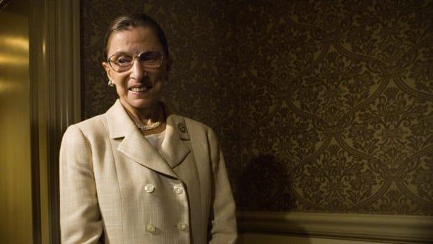 Ruth Bader Ginsburg Lead