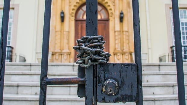 closed lock gate sh