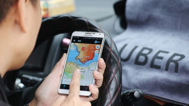 Uber rides are illegal in Hong Kong. Photo: Felix Wong