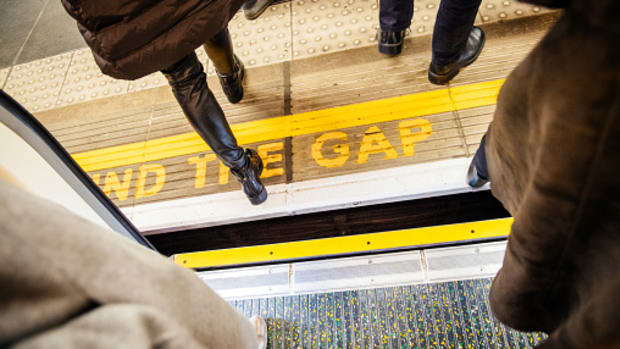 mind the gap between income and expenses