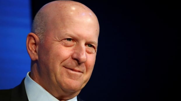 Goldman Sachs' Chairman and CEO David Solomon at the 50th World Economic Forum (WEF) annual meeting in Davos, Switzerland on January 21, 2020. Photo: Reuters