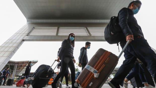 Reopening in Hong Kong, Airports
