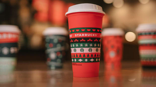 Starbucks Holiday Cups Lead