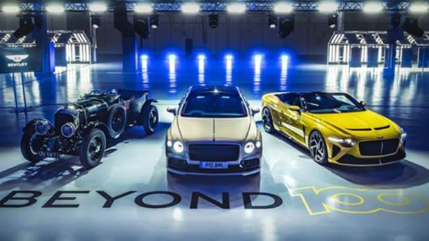 Bentley's Electric Models Lead