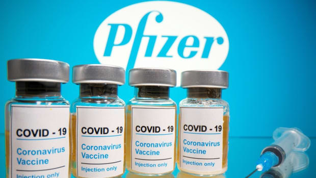 BioNTech and Pfizer's mRNA-based vaccine candidate BNT162b2 has proven to be more than 90 per cent effective in preventing Covid-19 infections. Photo: Reuters