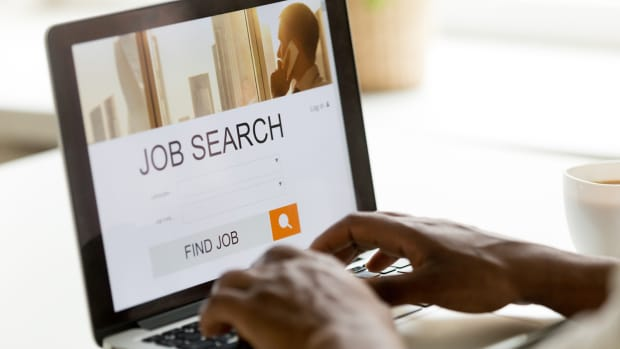 Job search by computer