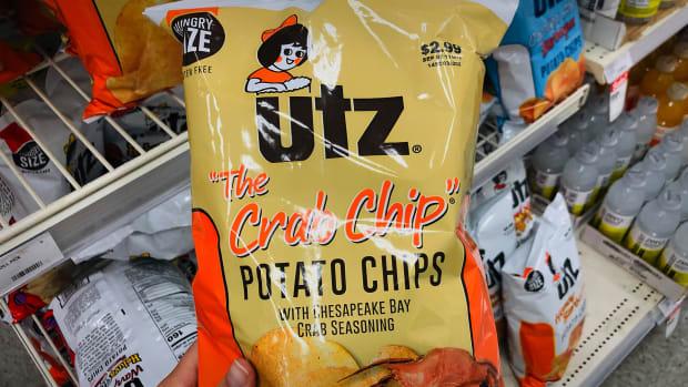 Utz Chips Lead