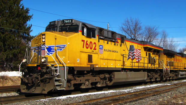 Union Pacific Railroad Train Lead