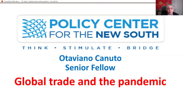 Canuto video 7 global trade and pandemic