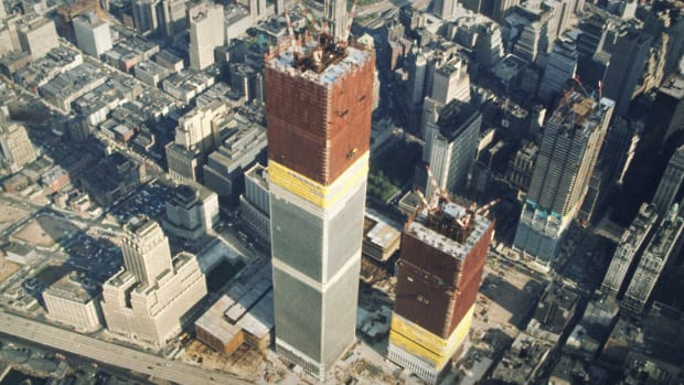 The North Tower Thumb