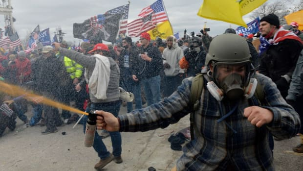 Pro-Trump rioters stormed the U.S. Capitol in Washington, D.C. on January 6, with at least five people dying in the ensuing violence.