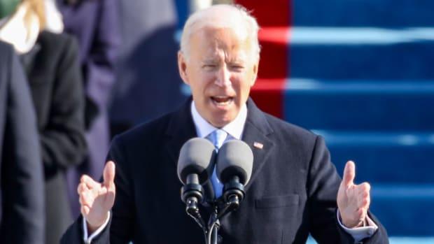 Joe Biden Inauguration Day Lead