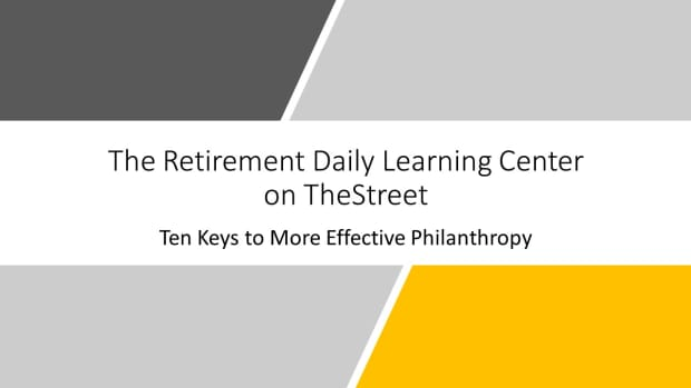 Ten Keys to More Effective Philanthropy