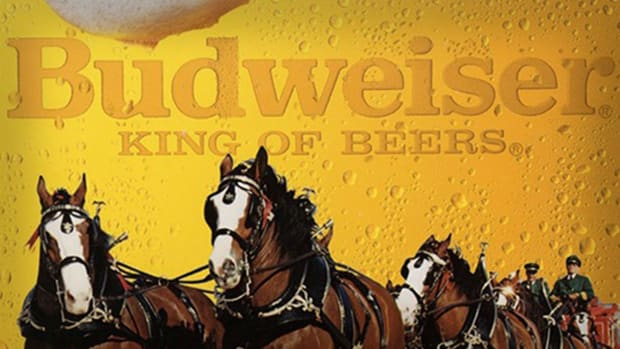 Budweiser's Clydesdales Lead