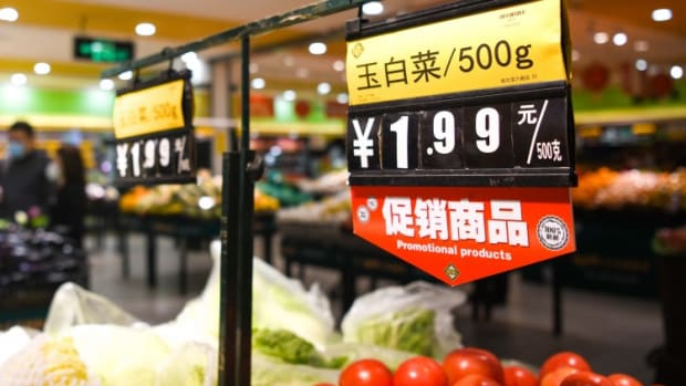 China's Vegetable Prices Hit Record Highs Ahead Of Lunar New Year Due To Cold Winter, Coronavirus Lockdowns