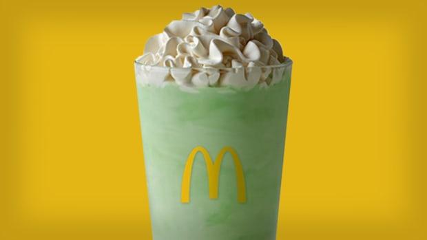McDonald's Shamrock Shake Lead