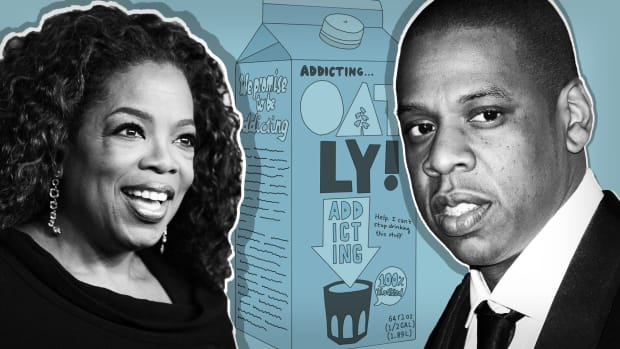 Oatly Oprah Jay Z Lead