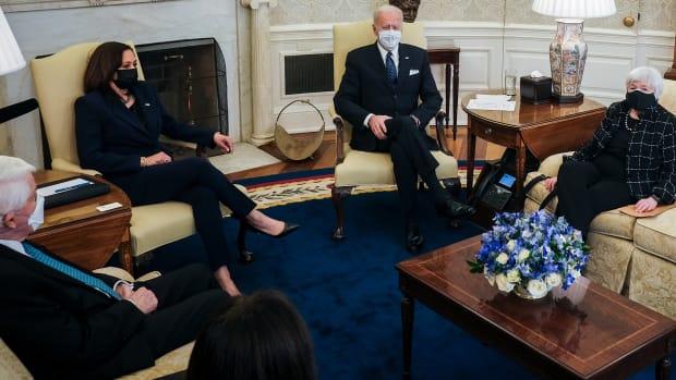 Biden White House Meeting Lead