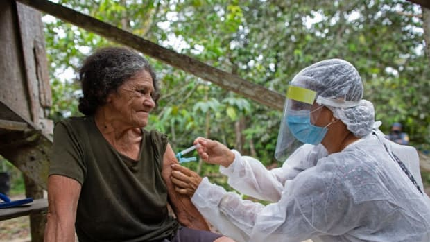 The success of Brazil's vaccine program will have a ripple effect on countries to which it exports commodities such as steel.