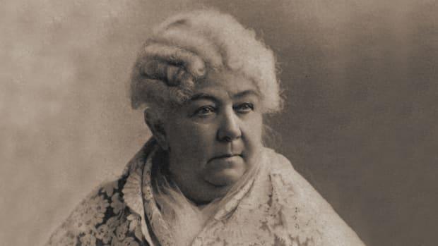 Elizabeth Cady Stanton.Still