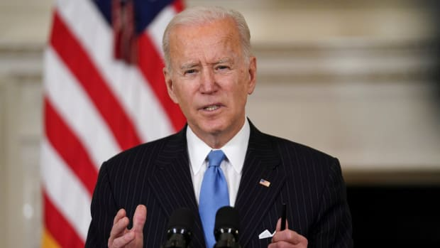 The Senate on Saturday passed US President Joe Biden's stimulus package. Photo: Reuters