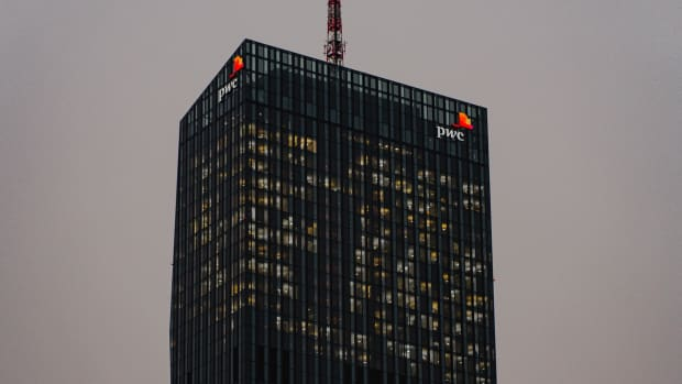 PwC building in Vienna, Austria.