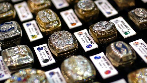 Super Bowl Rings Lead