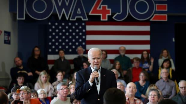 Iowa Caucus 2020 Lead